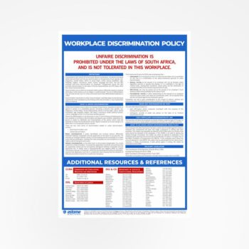 Workplace Discrimination Policy Poster