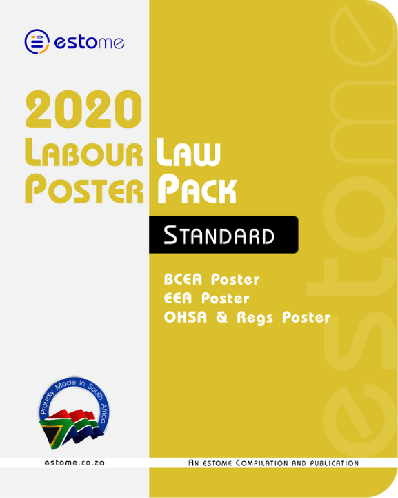3. Standard Labour Law Poster Pack
