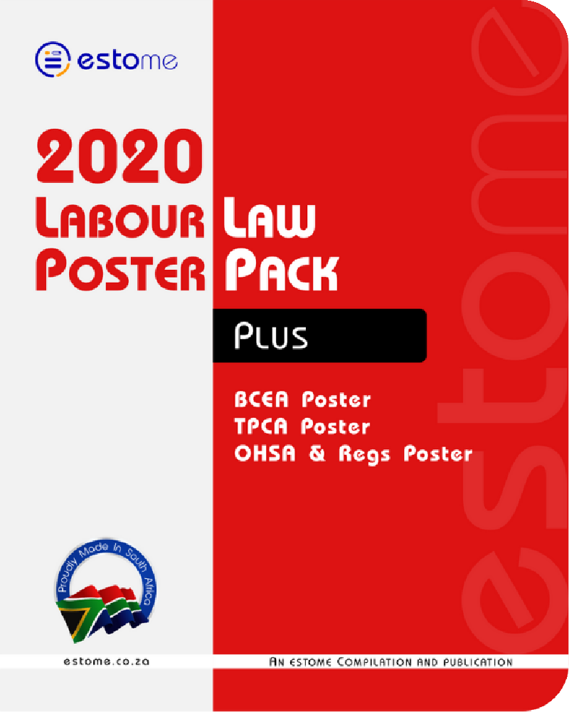 4. Plus Labour Law Poster Pack