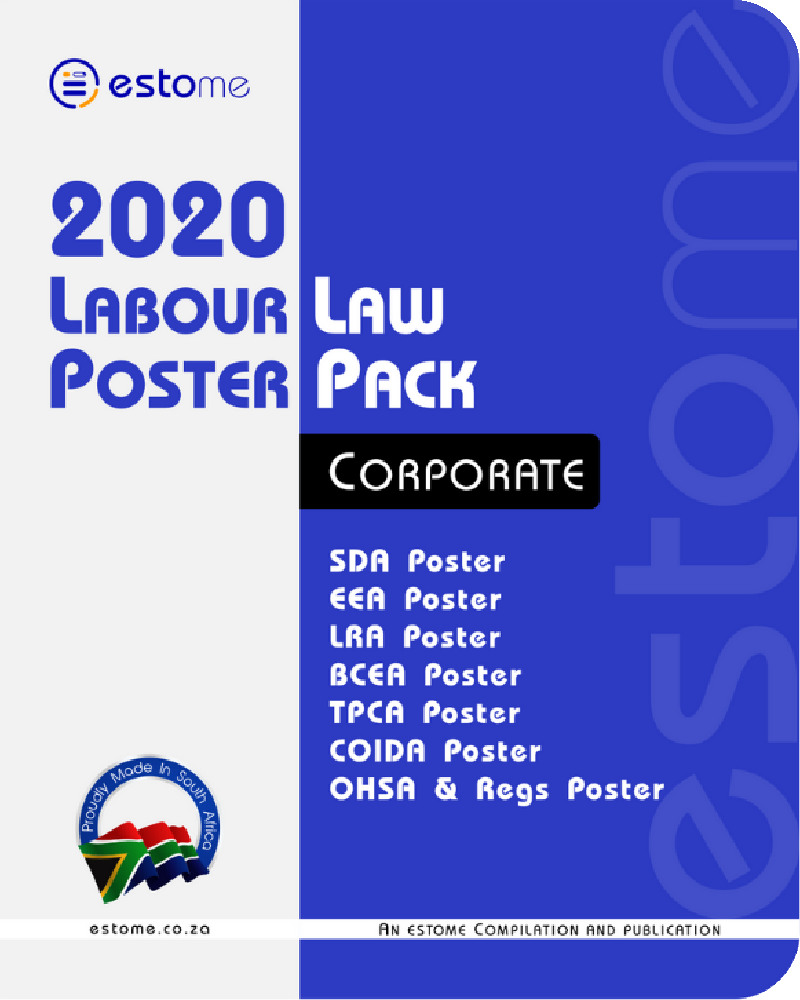 6. Corporate Labour Law Poster Pack