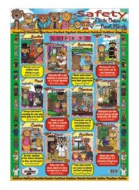 Safety Poster (Potter Bears) (Easy Write and Wipe)